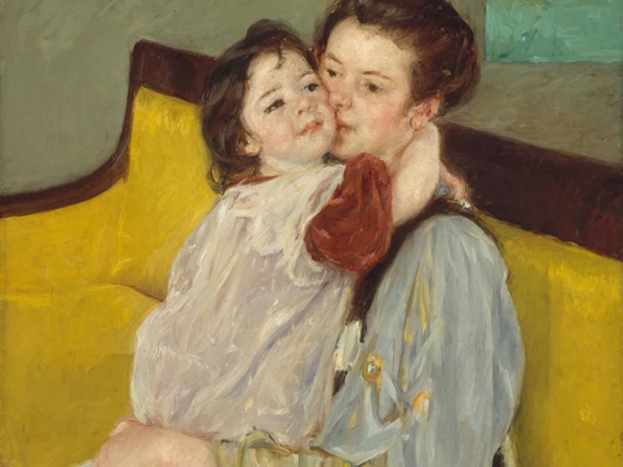 Mary Stevenson Cassatt, Caresse Maternelle, about 1902