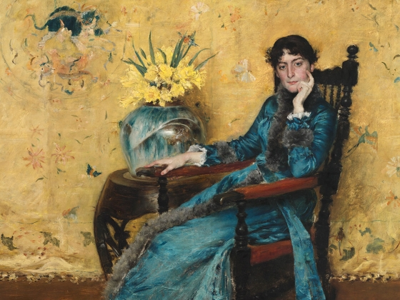 Dora Wheeler, William Merritt Chase