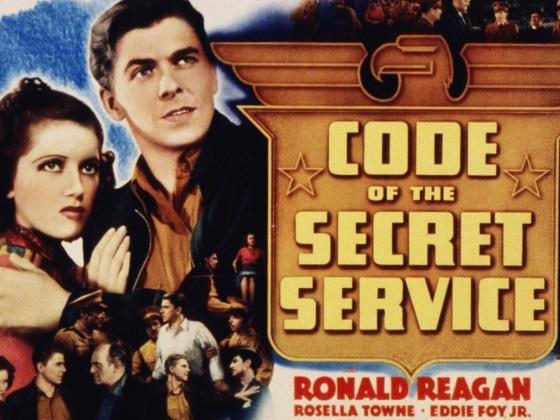 Code of the Secret Service Lobby Card