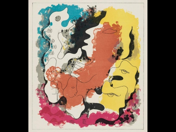 Carlos Mérida, Thus the creation and the formation of man took place..., 1943