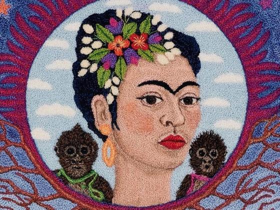 Rosita Johanson, In Memory of Frida Kahlo: Adios Frida, 2004