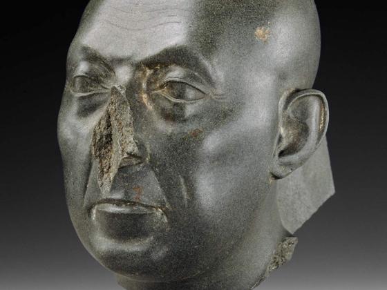 Head of a priest (The Boston Green Head), 380–332 B.C.