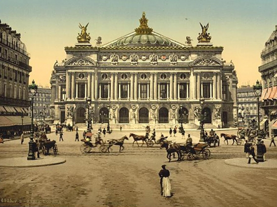 The Opera House, Paris, France, between ca. 1890 and ca. 1900