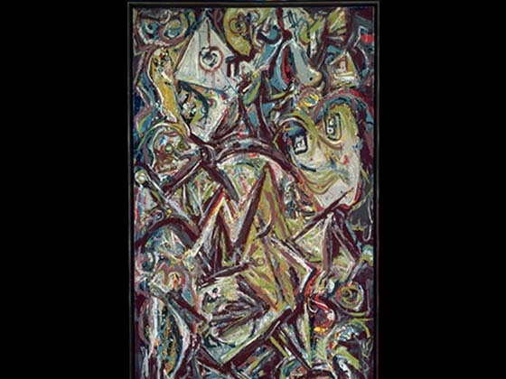 Jackson Pollock, Troubled Queen, 1945