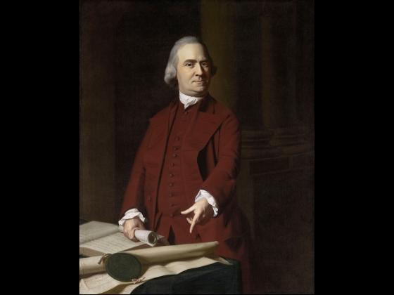 John Singleton Copley, Samuel Adams, about 1772