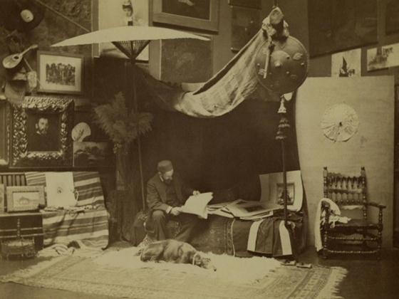 George C. (George Collins) Cox, William Merritt Chase in his Studio at 51 West 10th Street