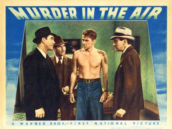Murder in the Air Lobby Card