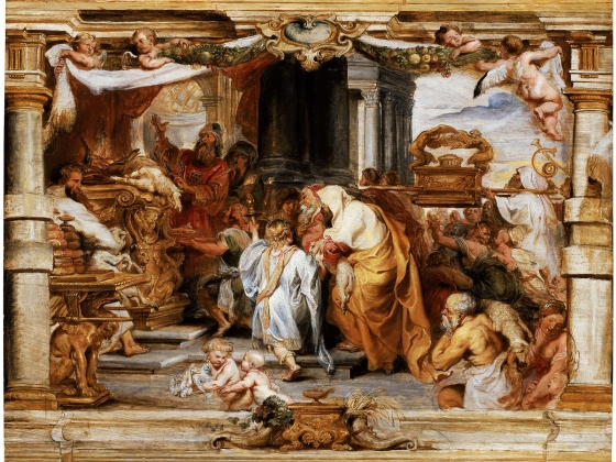 Peter Paul Rubens, The Sacrifice of the Old Covenant, about 1626 (1985.839)