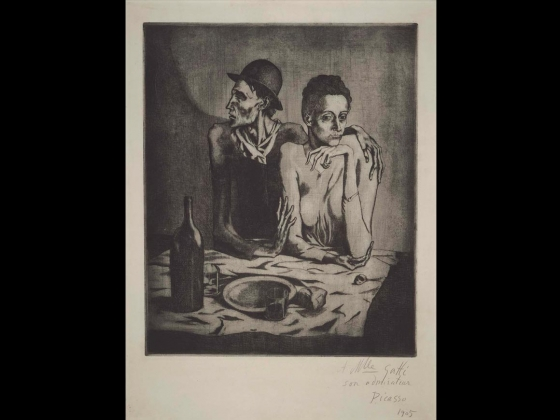 Pablo Picasso, The Frugal Repast, 1904