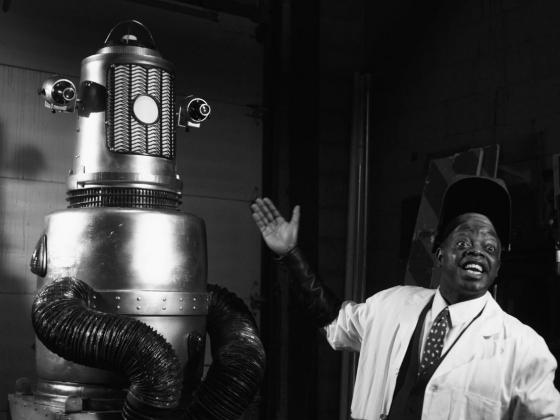 Film still from planet negro
