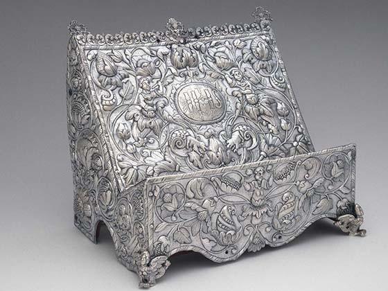Probably Moxos missions, Alto Peru, Missal stand (atril) 1725-30