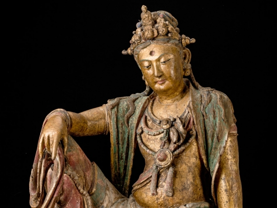 Guanyin, Bodhisattva of Compassion, Chinese Jin dynasty, about 1200