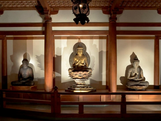 Buddhist Temple Room