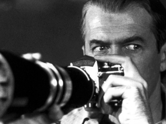 Film still from Rear Window