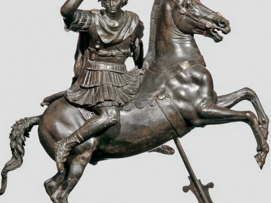 Alexander the Great on Horseback, 1st century B.C.