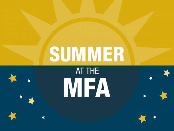 Summer at the MFA graphic