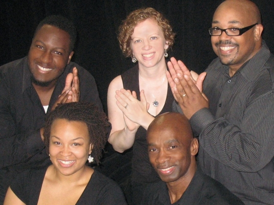 Members of the George Russell Jr. & Co. musical group