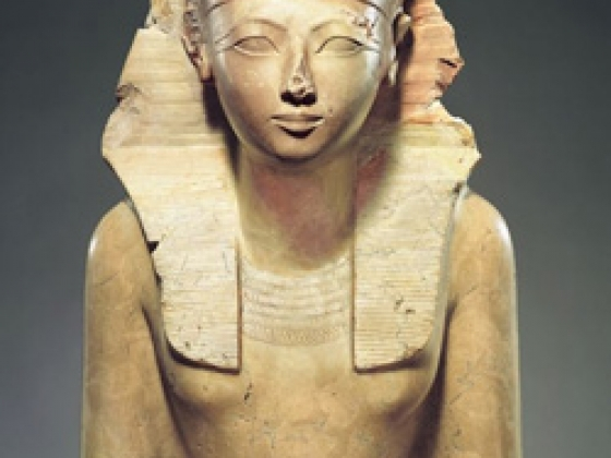 Seated Statue of Hatshepsut, from Egypt, Upper Egypt, ca. 1479-1458 B.C
