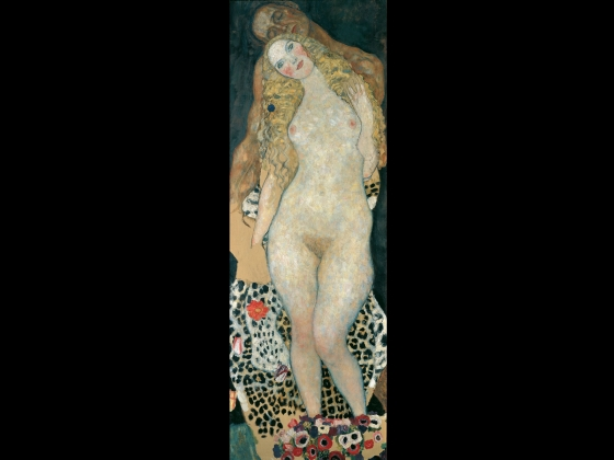 Gustav Klimt, Adam and Eve, 1917–18