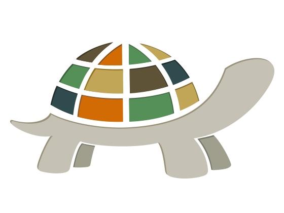 Logo Turtle Art Slow Art Day Turtle Logo