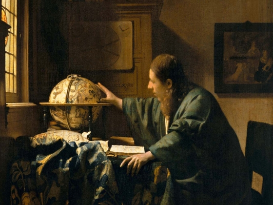 Johannes Vermeer, The Astronomer, about 1668