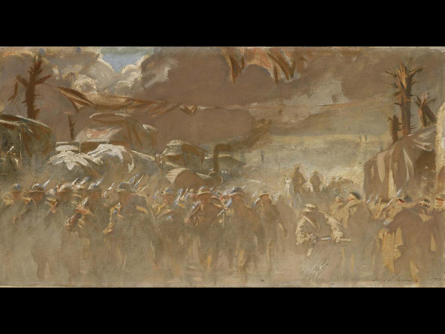 John Singer Sargent, The Road, 1918