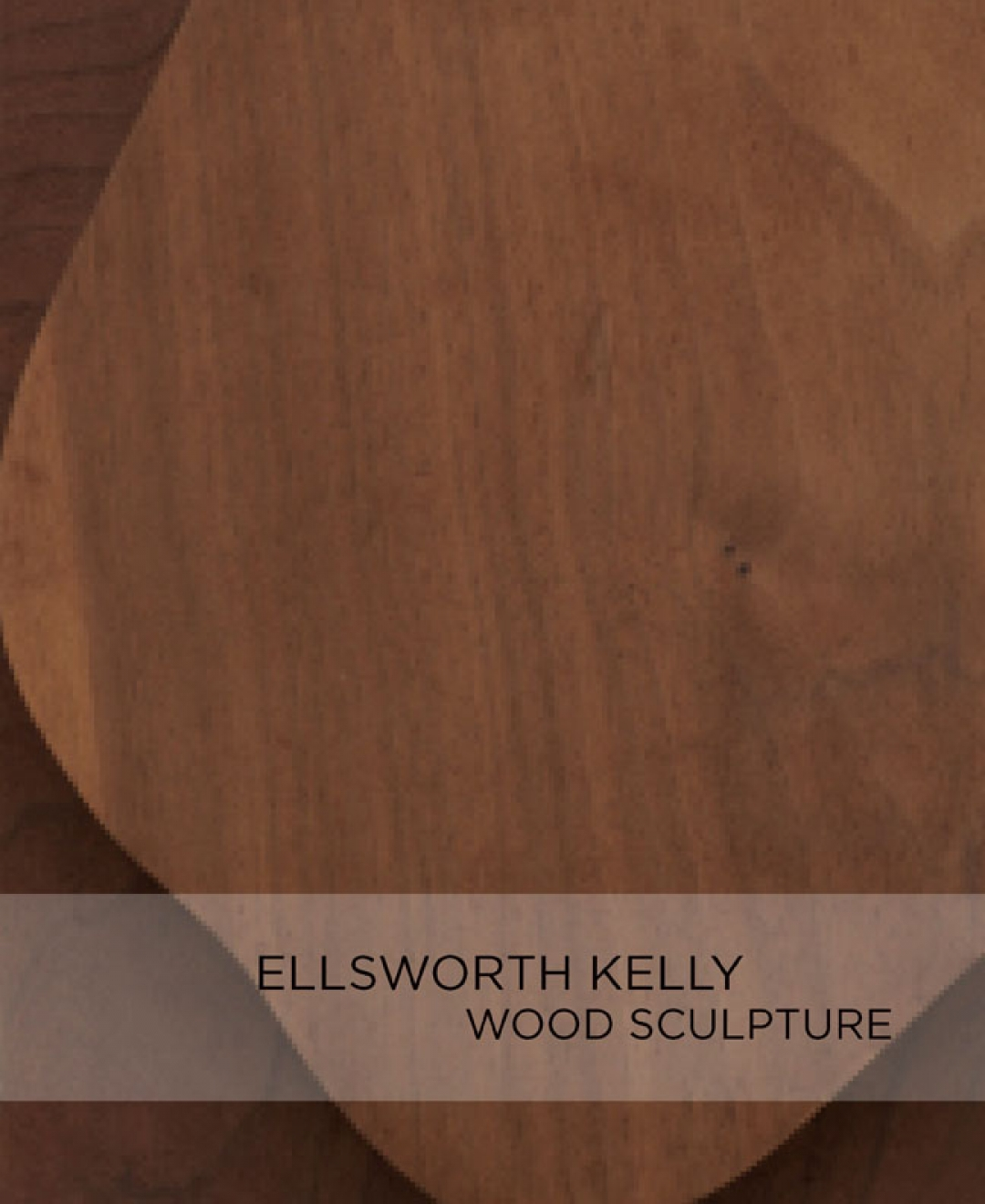 Ellsworth Kelly Wood Sculpture