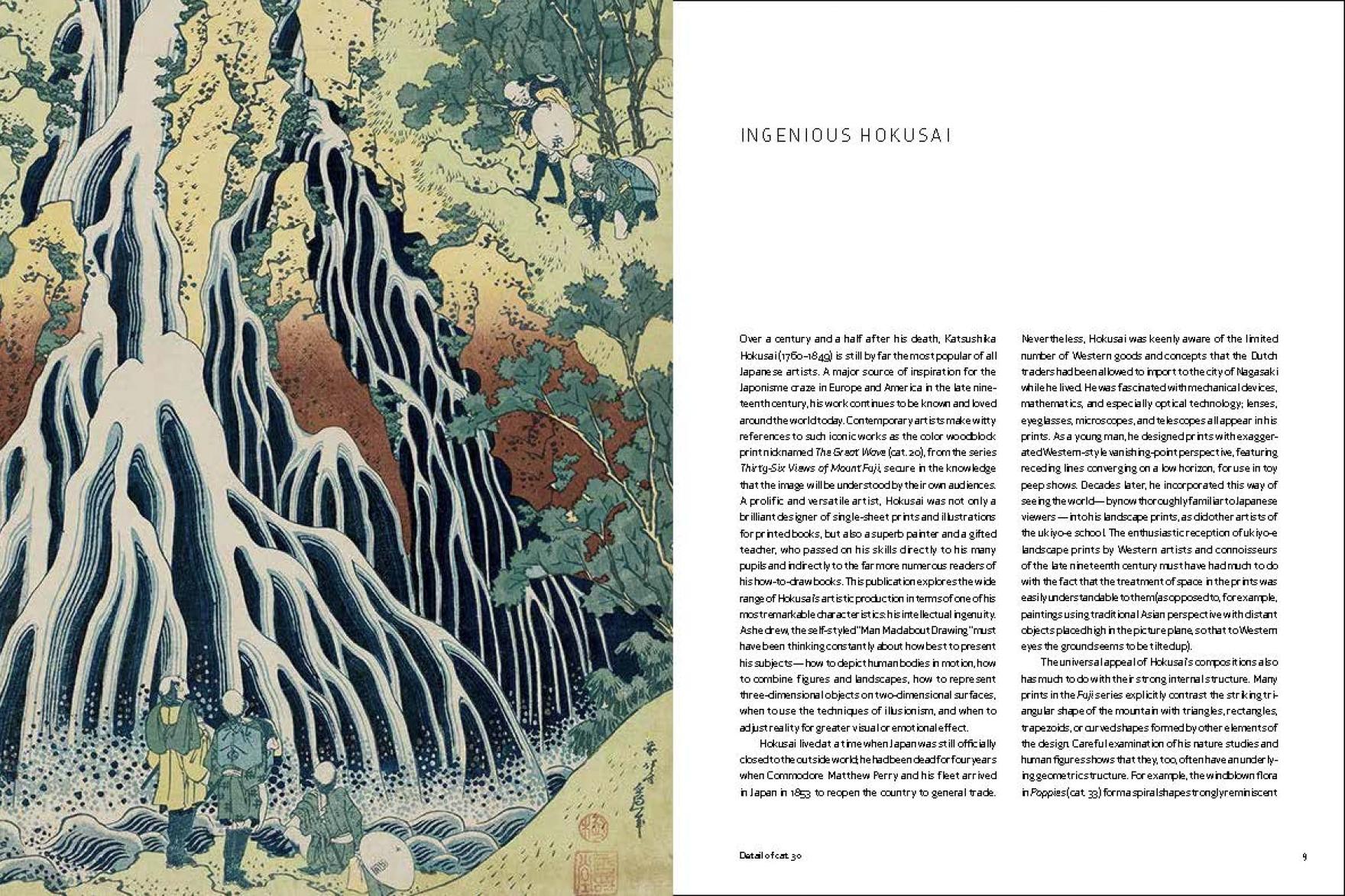 Hokusai spread 1