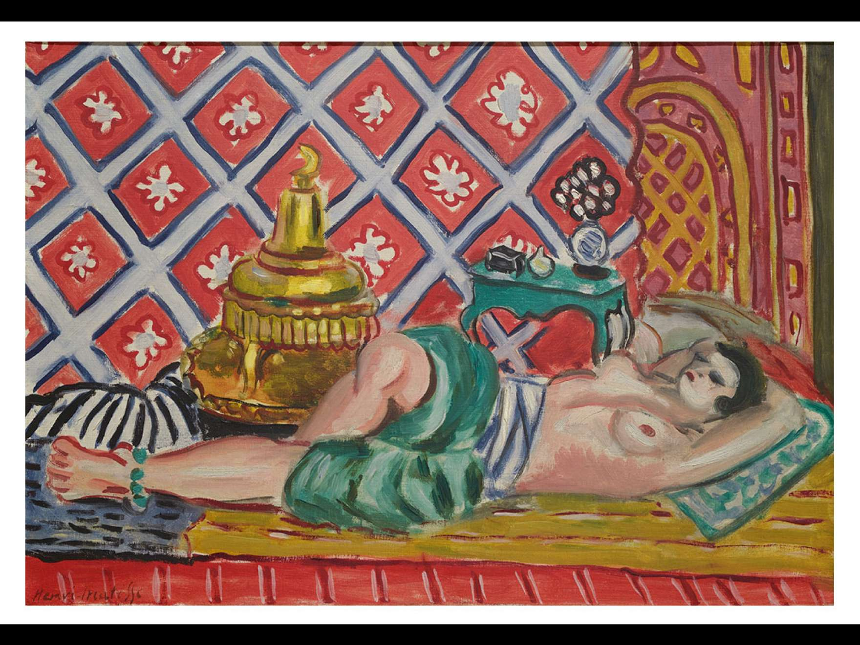 Henri Matisse's painting, Reclining Odalisque