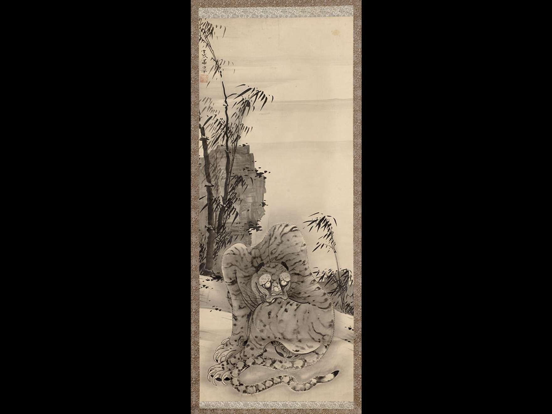 Soga Shōhaku, Tiger, late 1770s
