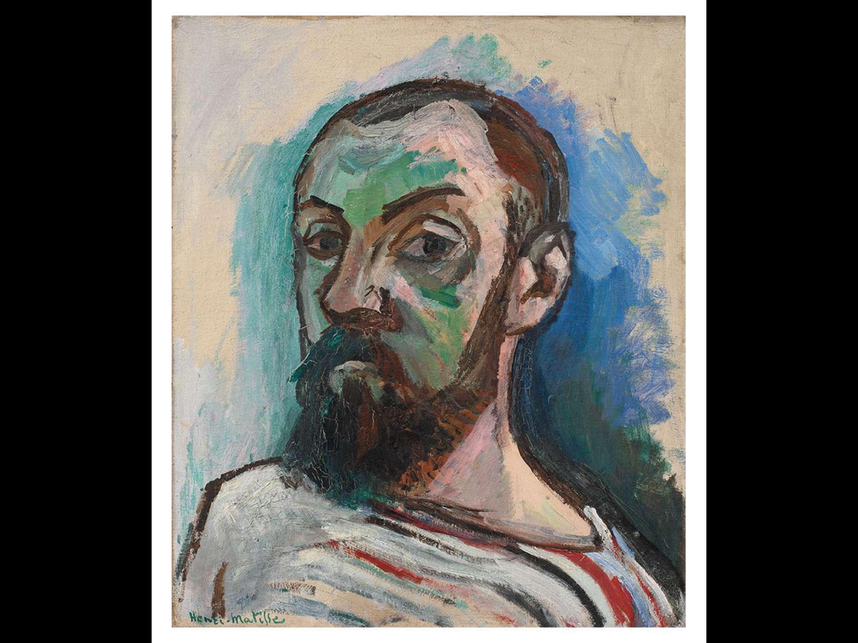 Henri Matisse's painting, Self-Portrait