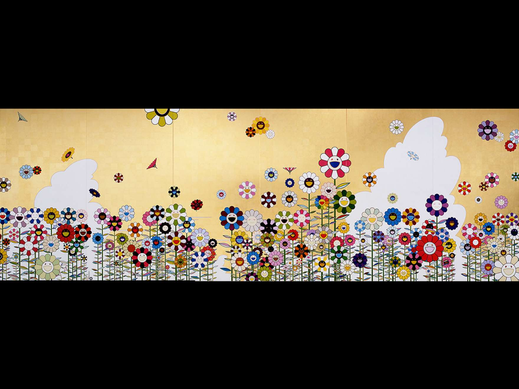 Takashi Murakami, Kawaii - vacances (Summer Vacation in the Kingdom of the Golden), 2008