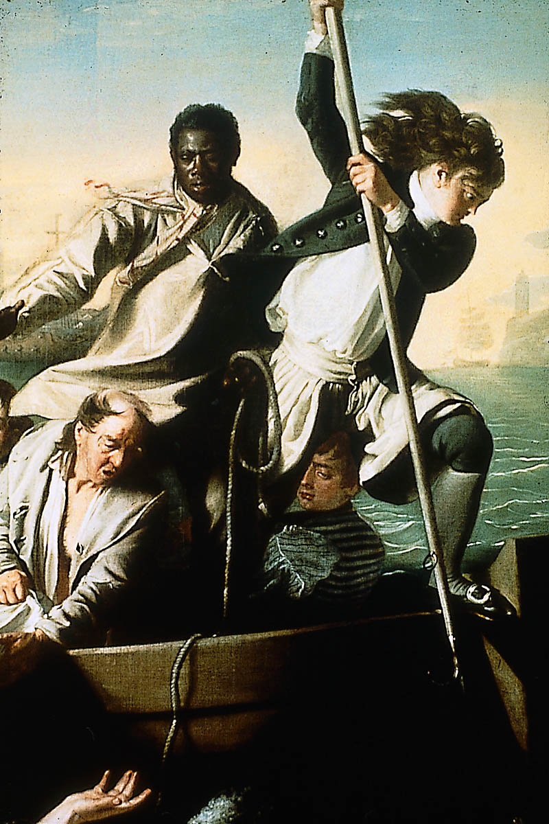 John Singleton Copley, Oil on canvas, Watson and the Shark