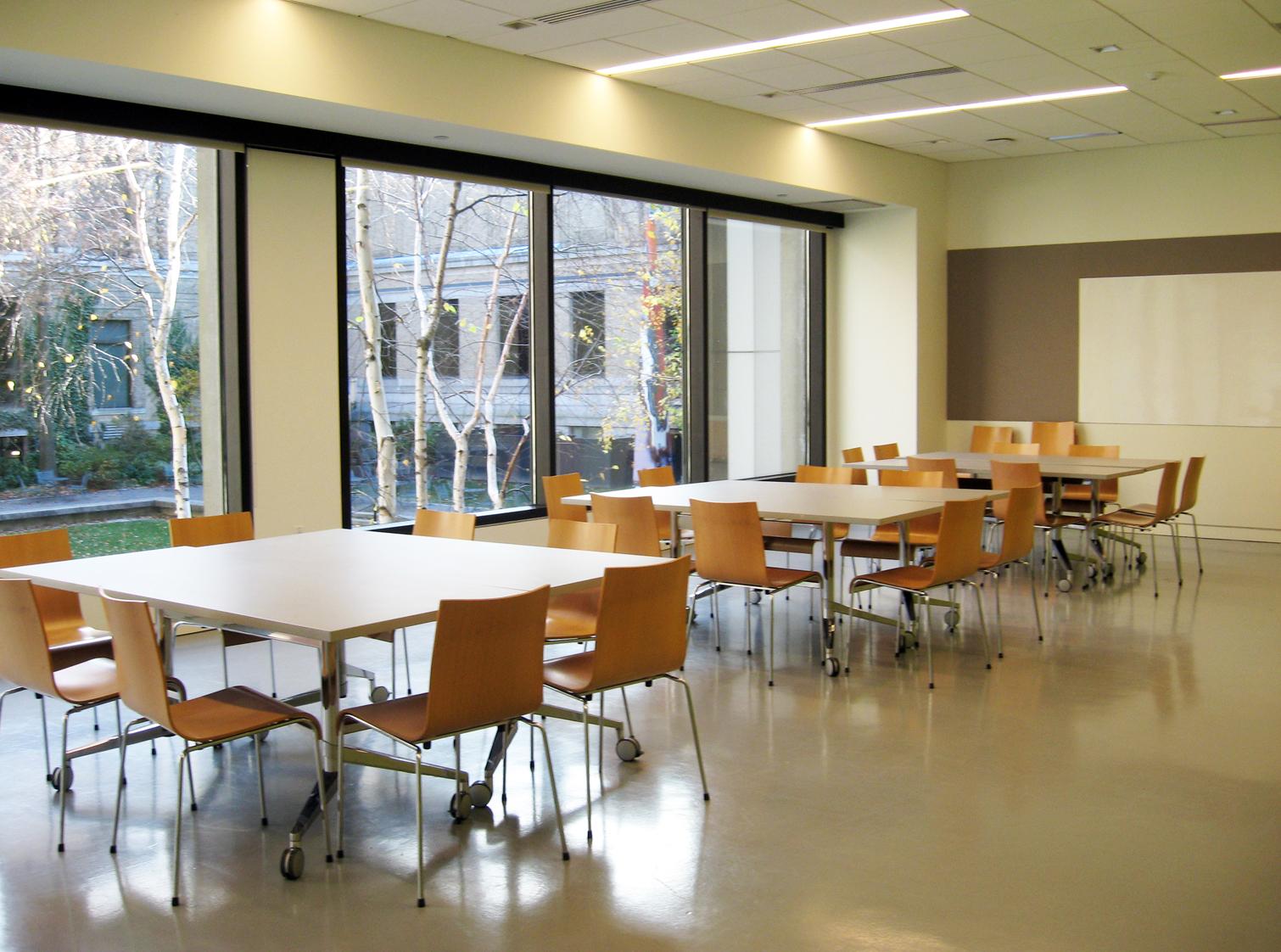 View Of Classroom In Druker Family Pavilion, Room 160