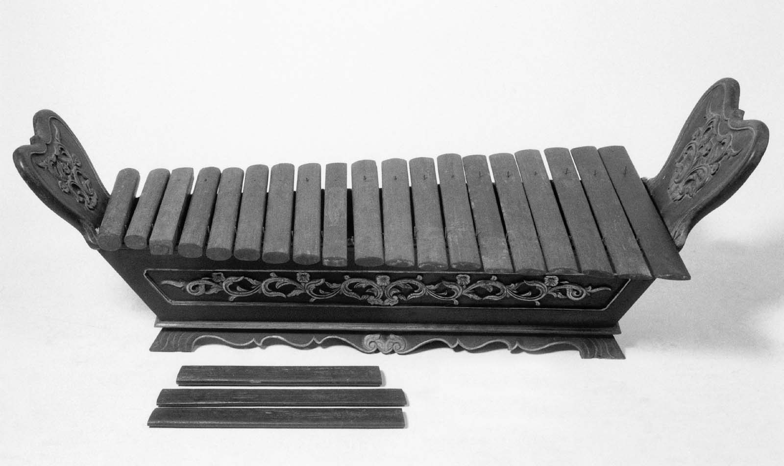 Xylophone Gambang Kayu Museum Of Fine Arts Boston