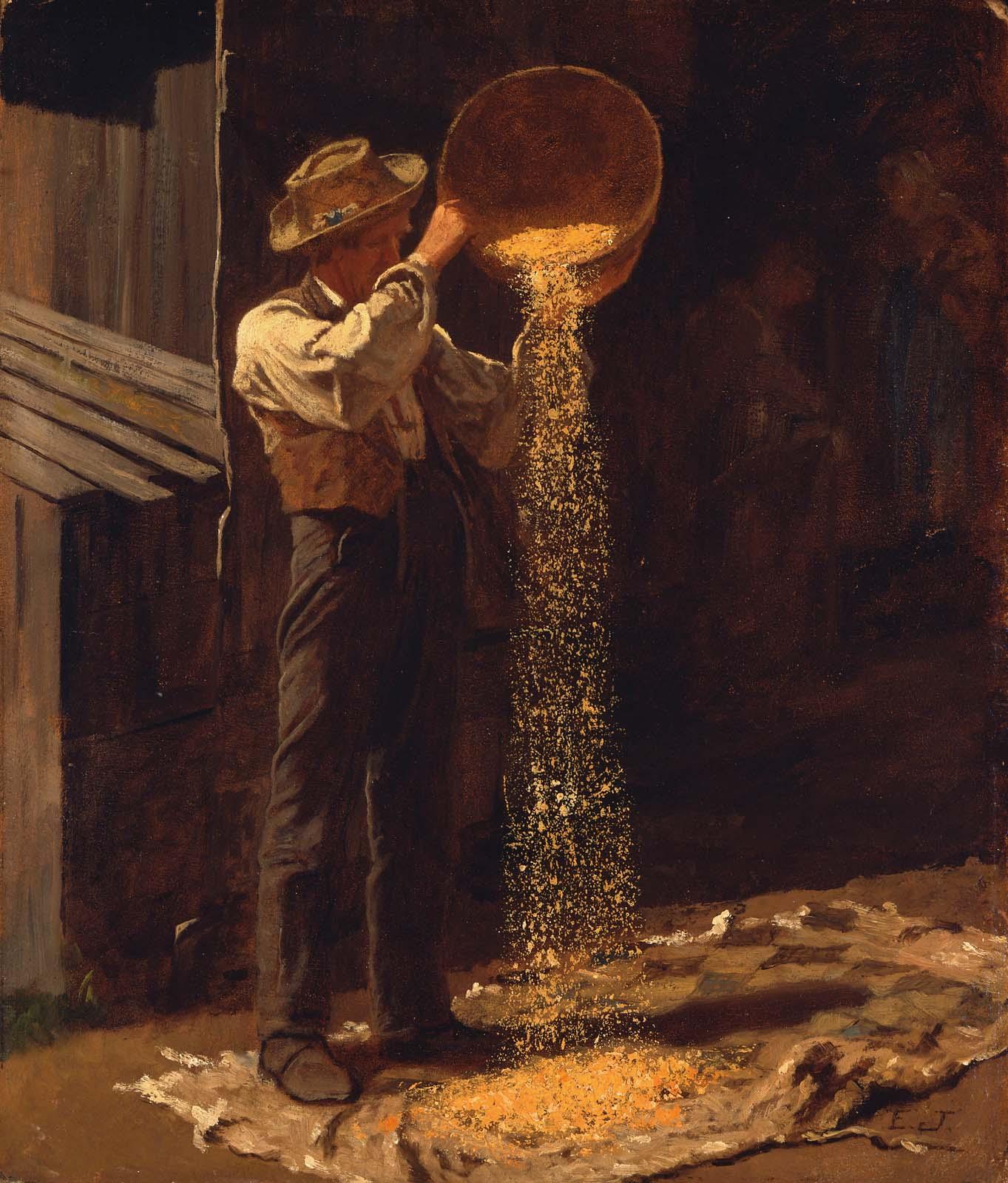 Winnowing Grain Museum Of Fine Arts Boston
