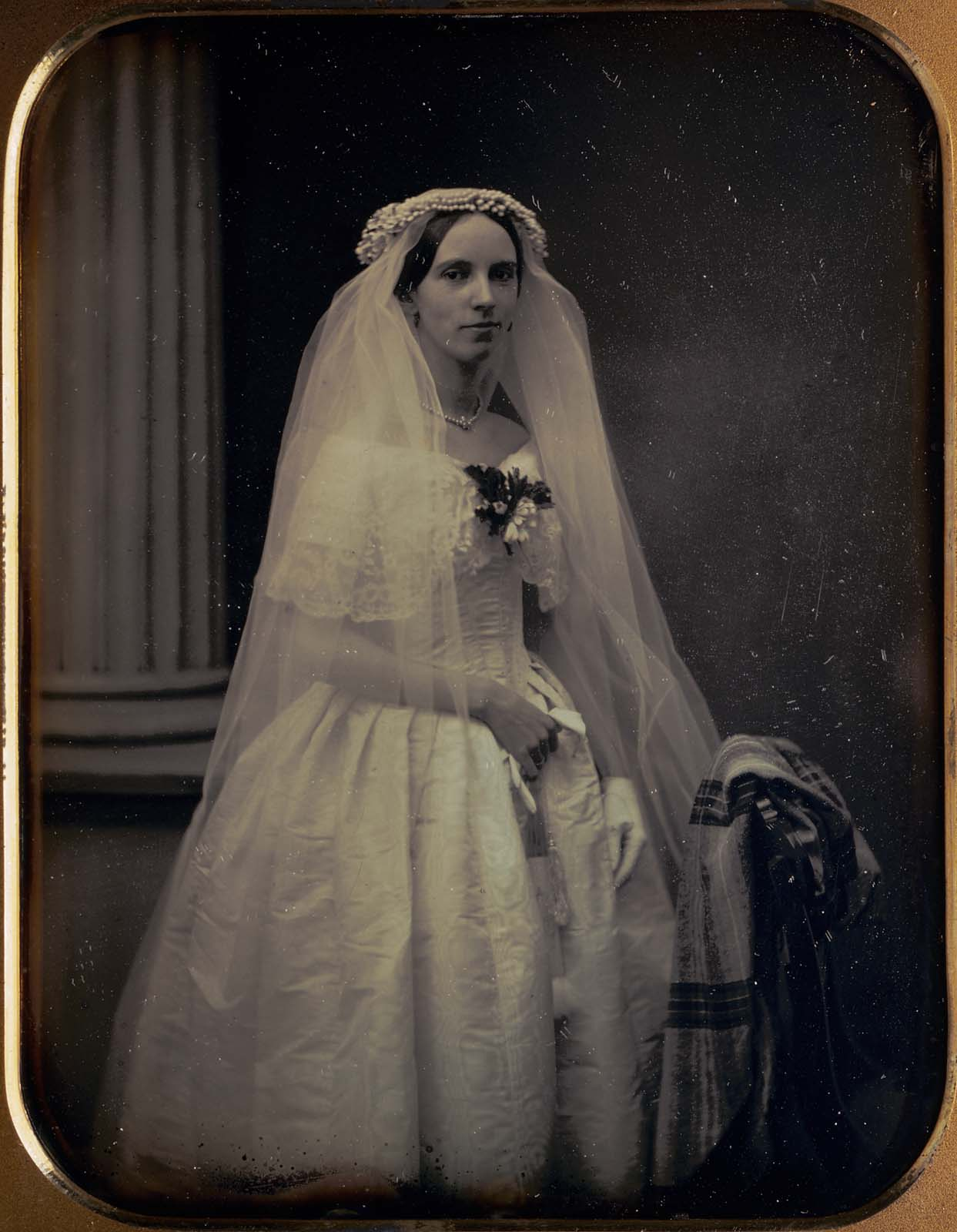 Martha Pickman Rogers in Her Wedding Gown | Museum of Fine Arts, Boston