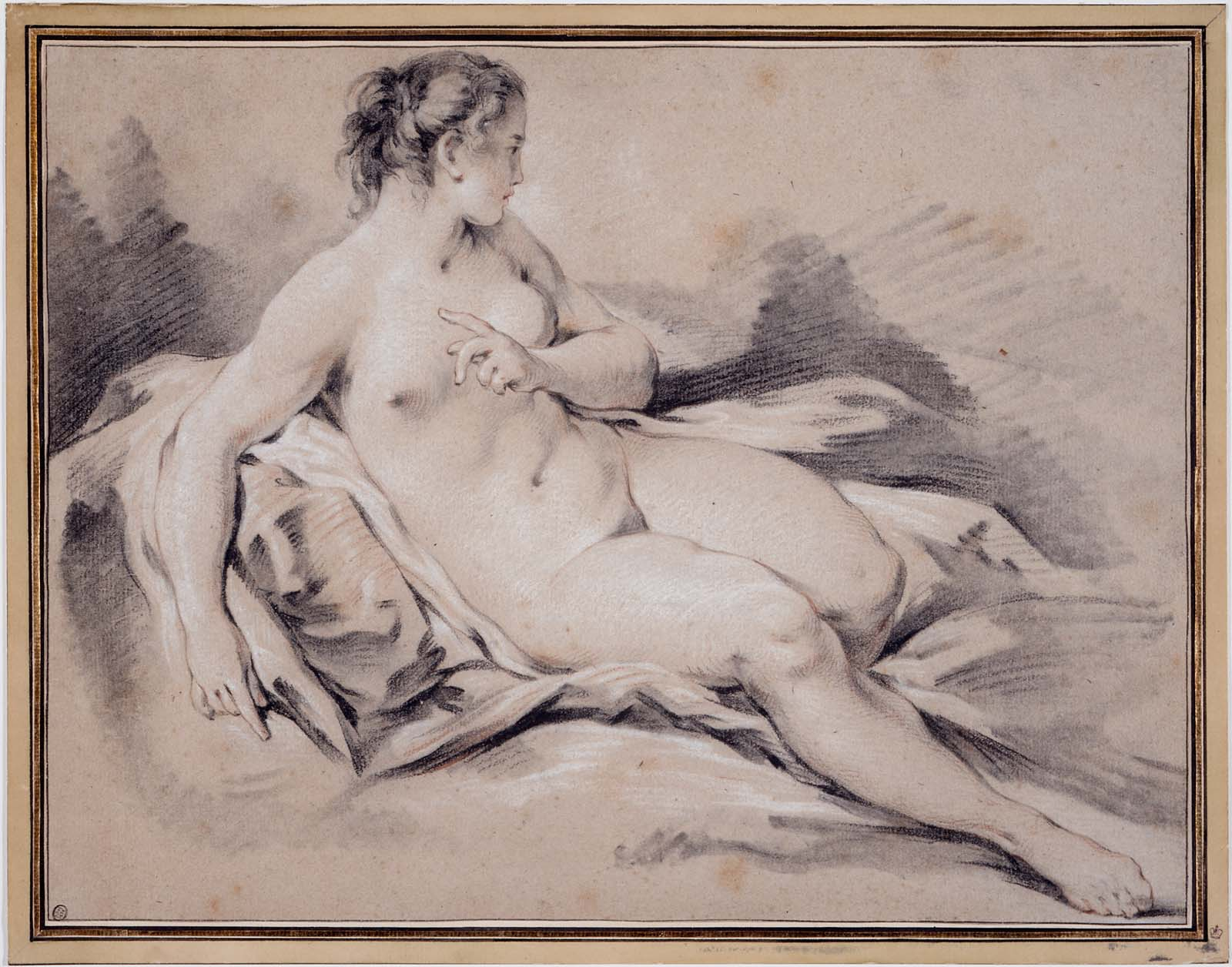Reclining female picture 28