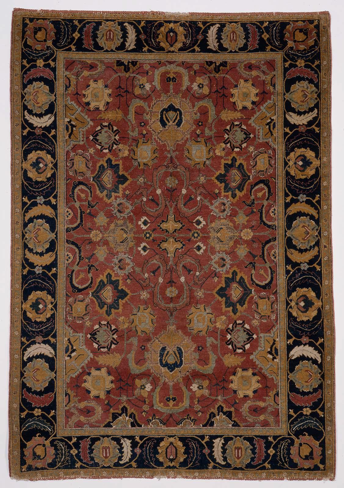 Indo Persian Carpet Museum Of Fine Arts Boston