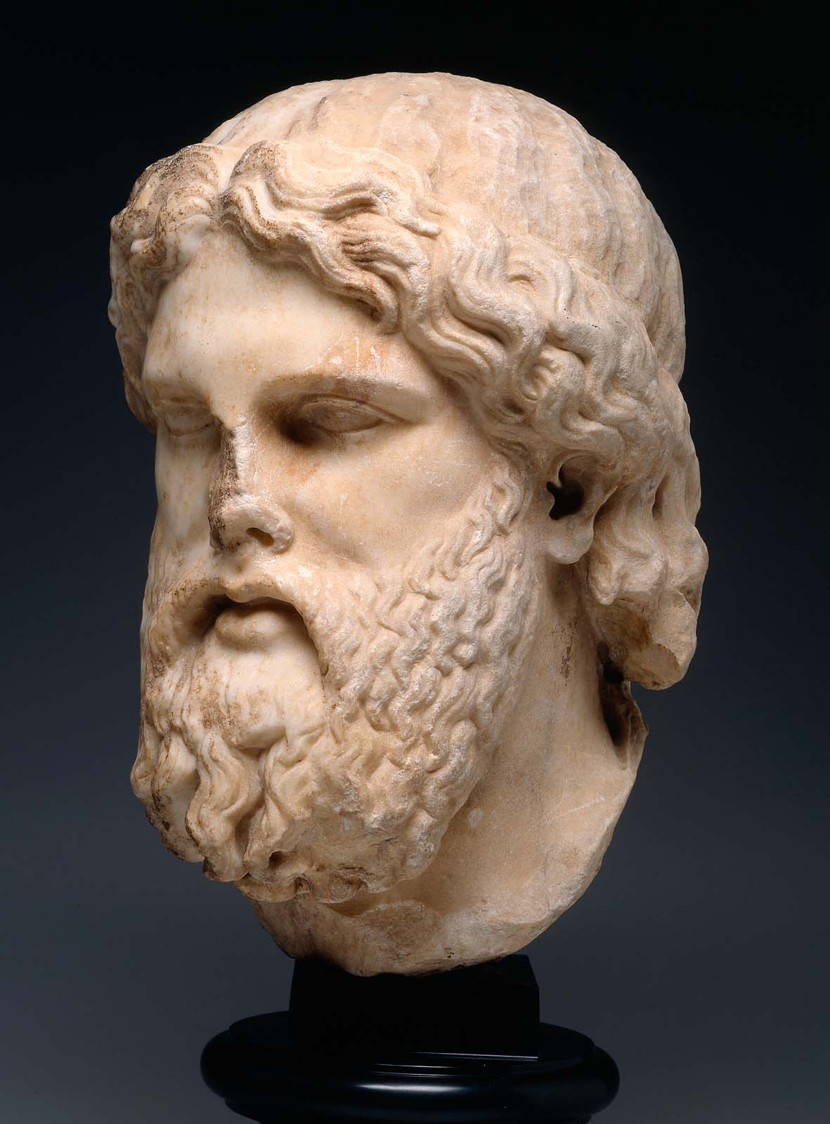 Head Of Zeus Museum Of Fine Arts Boston