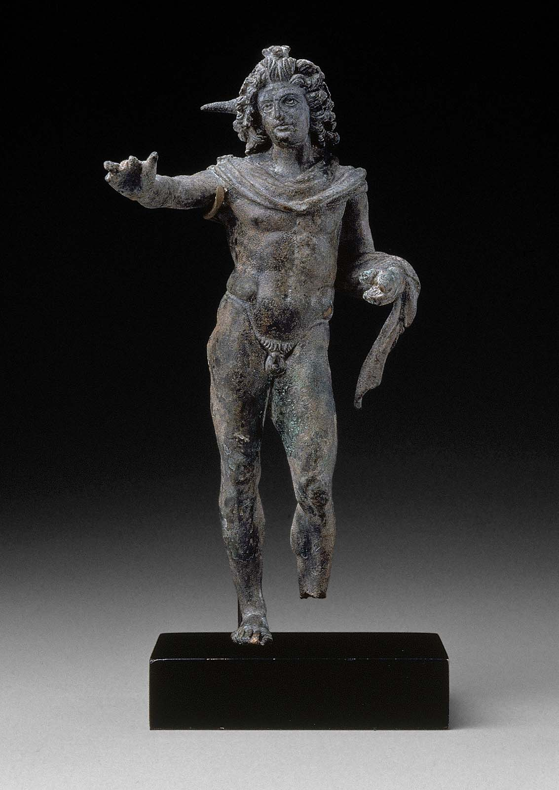 Statuette Of Helios The Sun God