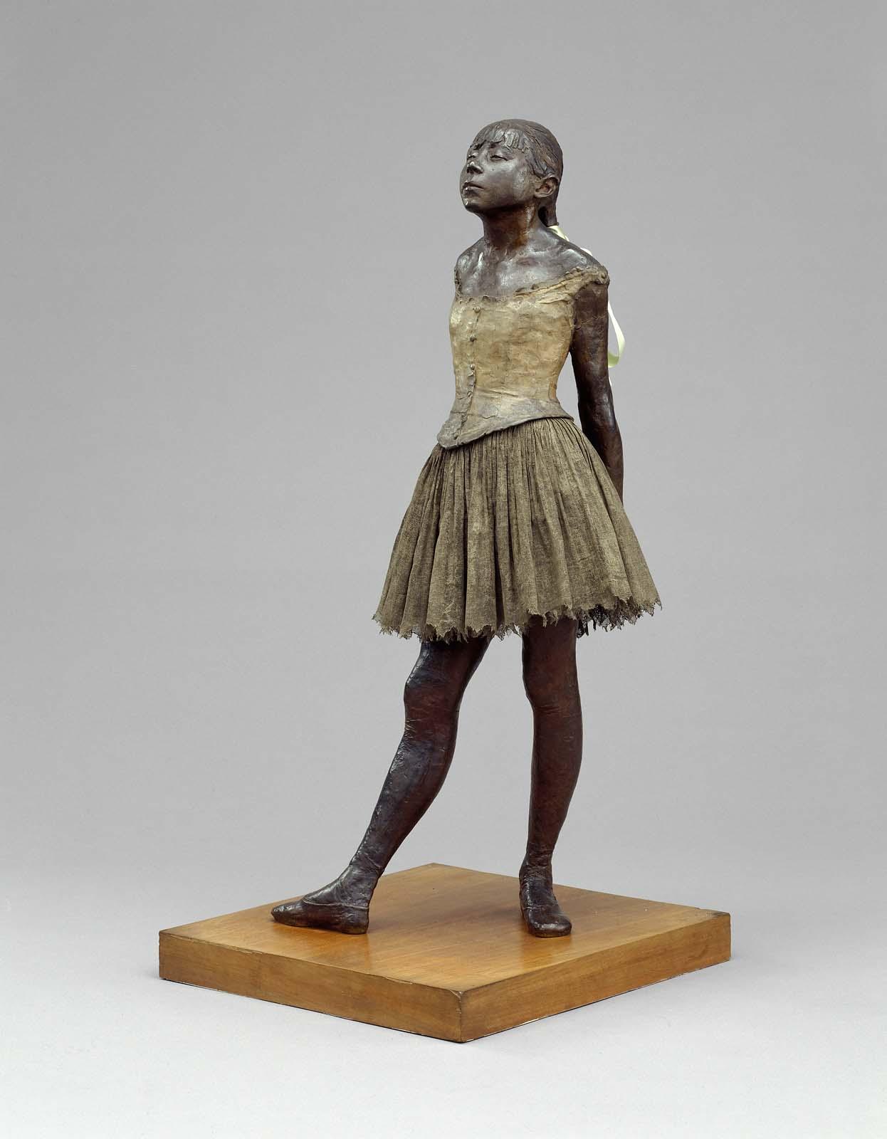 Degas Ballerina Sculpture