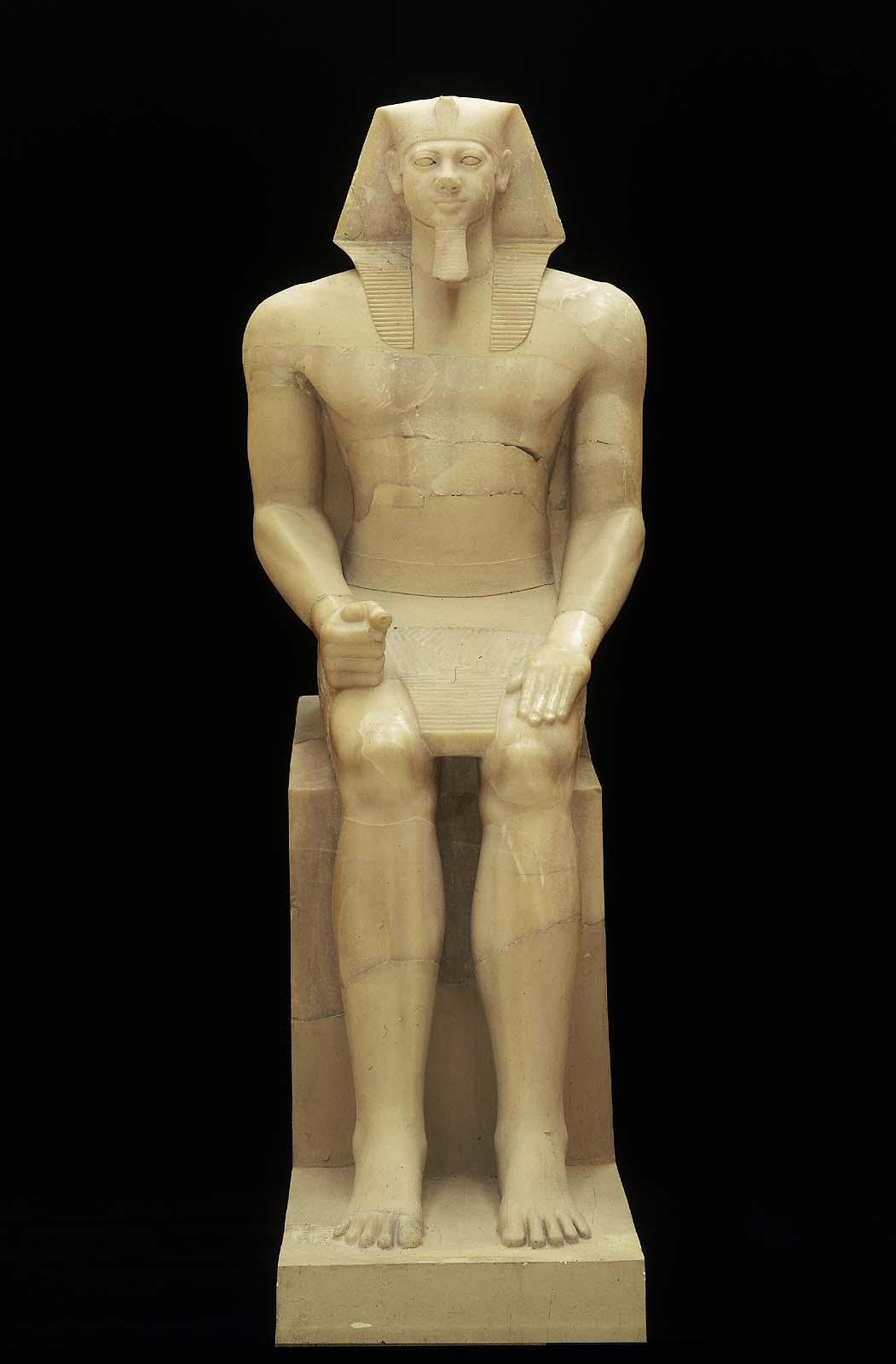 Colossal Statue Of King Menkaura Mycerinus Museum Of