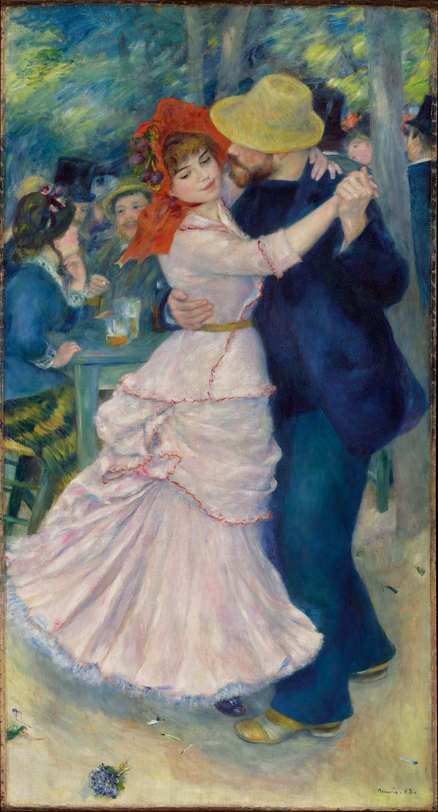 Dance At Bougival Museum Of Fine Arts Boston