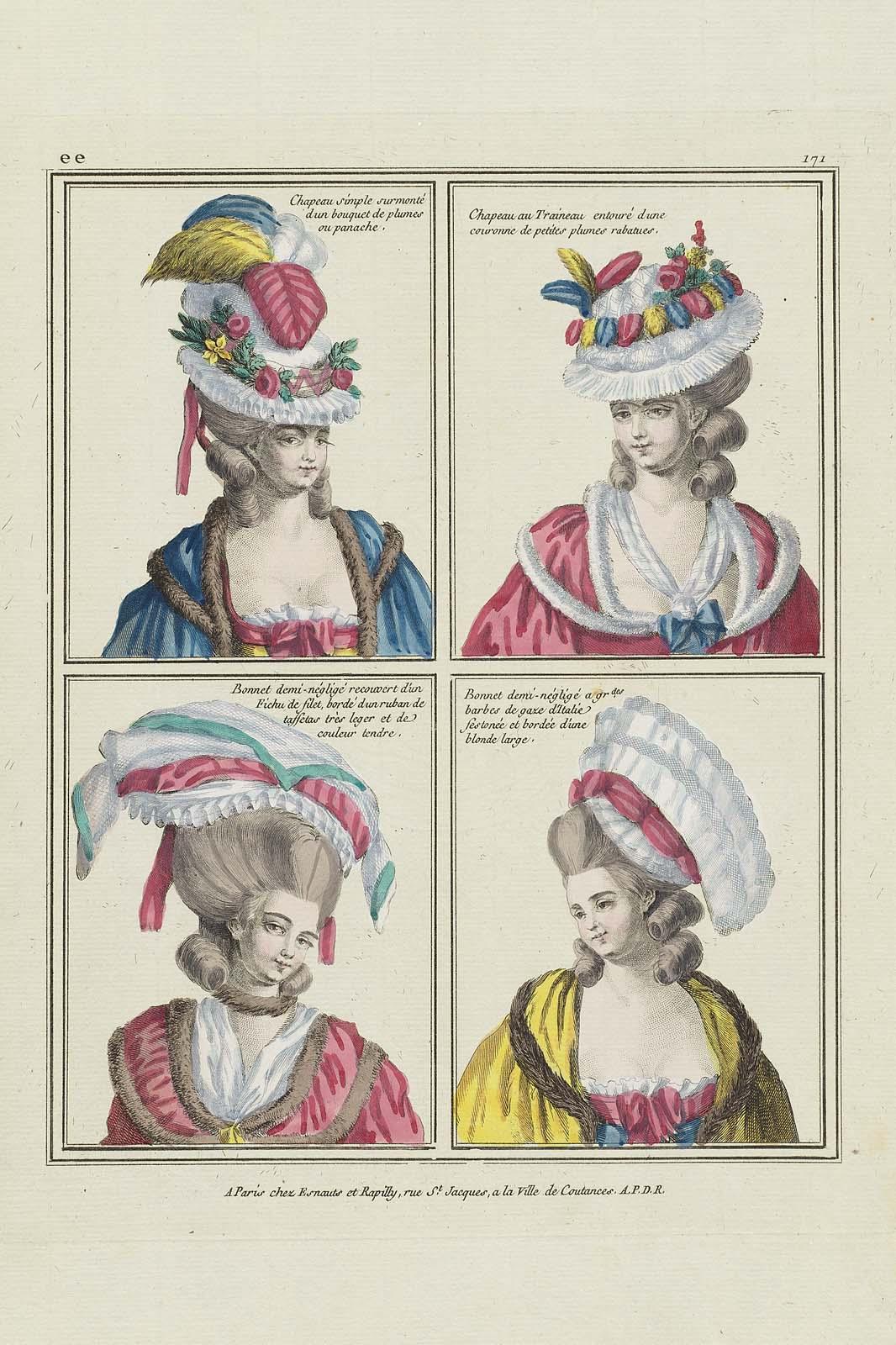 de gros le plus populaire coupe classique Gallerie des Modes et Costumes Français, 29e. Cahier de ...