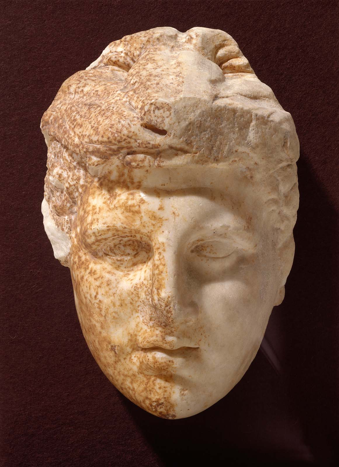 Head Of Herakles Alexander The Great Museum Of Fine
