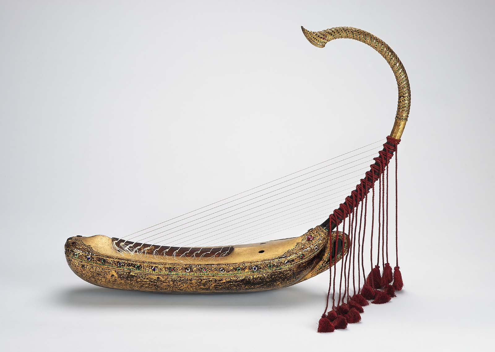 The gallery for --> Saung Gauk Instrument