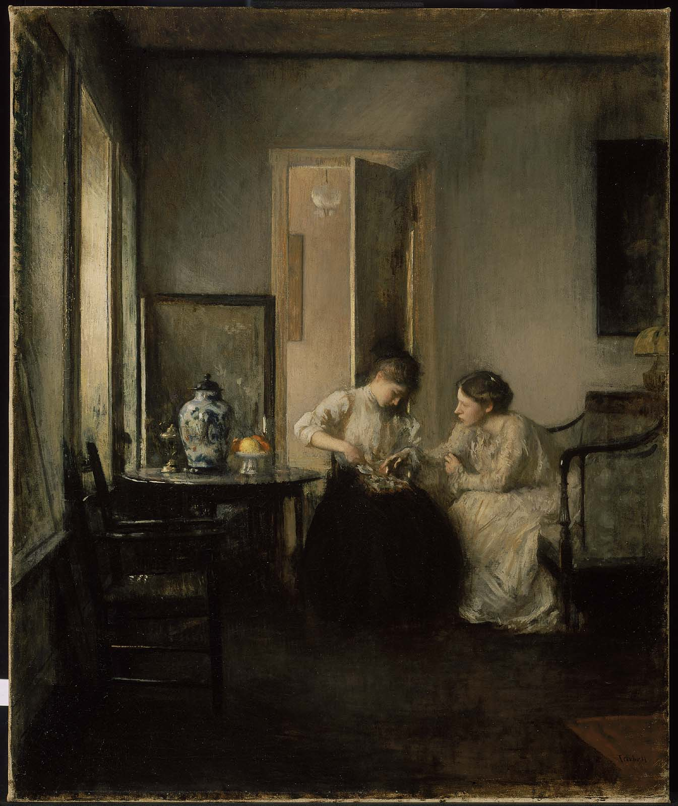 Interior Home Painting With Fine Interior Home Painting: Museum Of Fine Arts, Boston