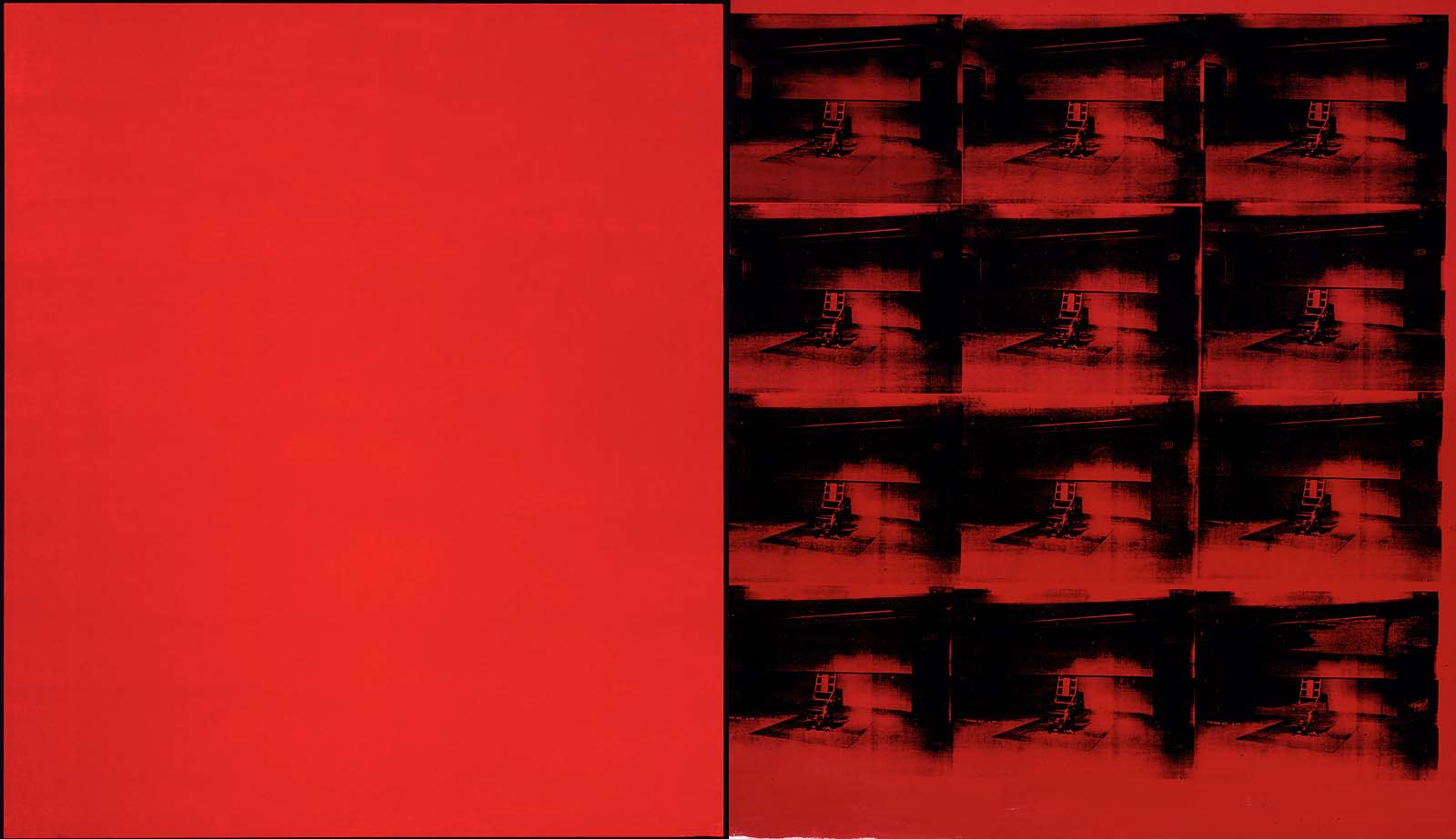 Andy Warhol Painting Red Disaster