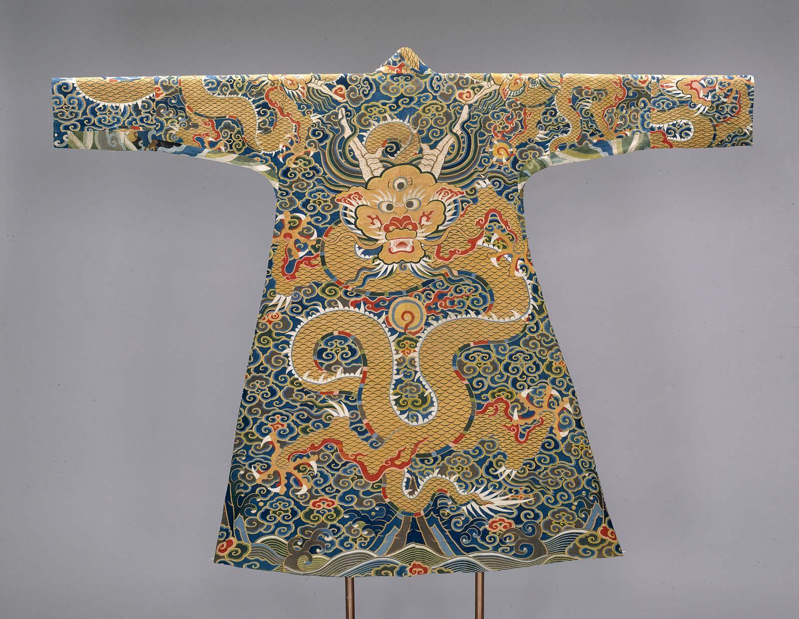 aab3d7bc0a Man s robe restyled as a Tibetan chuba